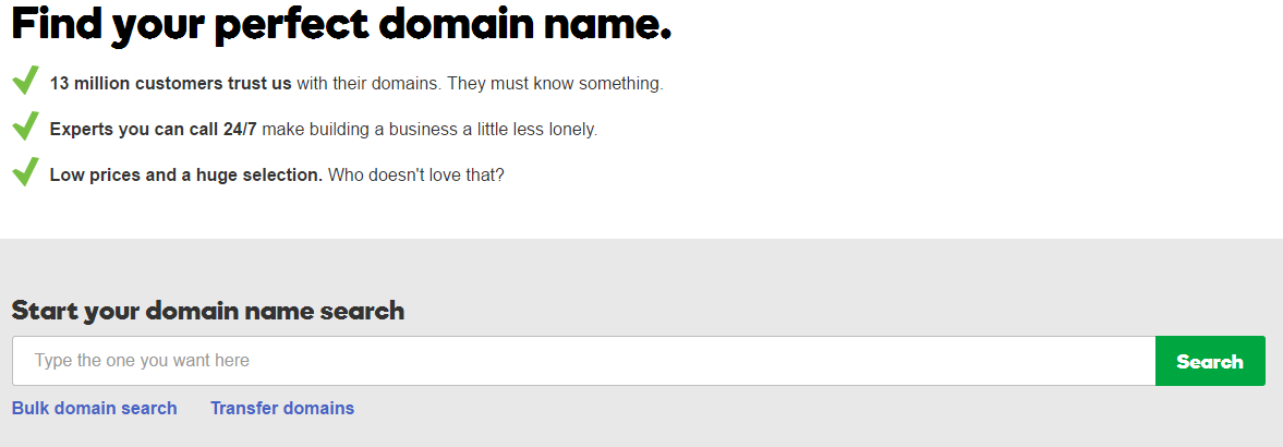 find perfect domain name
